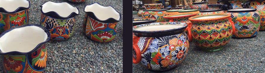 Pleasing Talavera Pots Straight From The Factory In Dolores Hidalgo Machost Co Dining Chair Design Ideas Machostcouk